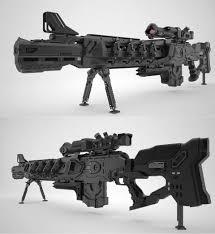 gauss rifle by dmitriy kashtanov firearm pinterest weapons
