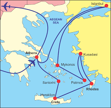 Map Greece by Map Of Turkey And Greece