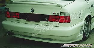 Bmw E30 Rear Valance Bmw 5 Series Sedan Rear Bumper 1989 1995 490 00 Part Bm