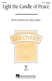 light a candle for peace lyrics light the candle of peace sheet music direct