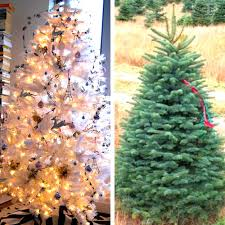 Artificial Decorative Trees For The Home Are You Getting A Real Christmas Tree Or Artificial Tree This Year