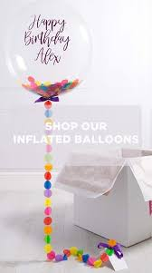 inflated helium balloons delivered helium balloons delivered next day bubblegum balloons baby