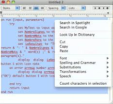 How To Count Words In Textedit In Mac Os X Add A Word And Character Count To Any Mac Program