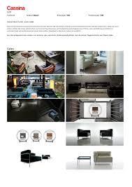 cassina lc3 armchair by le corbusier pierre jeanneret charlotte