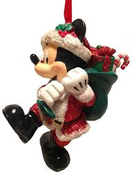 ornament santa mickey mouse with presents