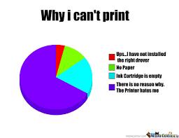 Meme Print - why i can t print by justsomerandommemes meme center