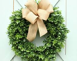 boxwood wreath outdoor wreath boxwood wreath modern farmhouse