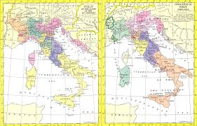 Cities In Italy Map by Italian States In The Seventeenth Century