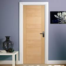 Flush Exterior Door Oak Flush Exterior Door Exterior Doors Ideas