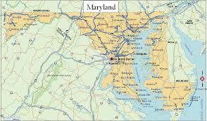 maryland map free printable us state maps printable state maps