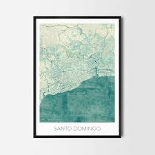 Chicago Neighborhood Map Poster by Santo Domingo Art Posters City Art Map Posters And Prints