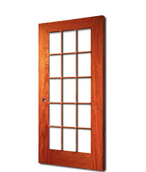 15 light french door 10 15 lite french clear glass red oak 6 8 80 darpet doors