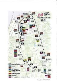 map of le mans le mans marshals guide