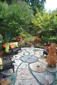 Quikrete Paver Mold by Creating A Whimsical Patio State By State Gardening