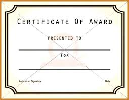 award certificate templates notary letter