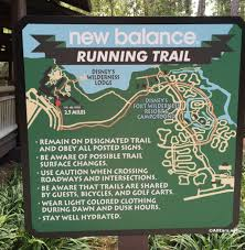 Walt Disney World Resorts Map by Running Jogging Trails And Tips