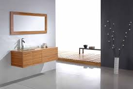 Bathroom Vanities And Mirrors Sets Bathroom Attractive Wooden Floating Bathroom Vanity Set With