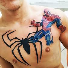60 marvel tattoos for men superhero comic design ideas