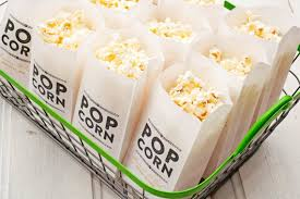 popcorn favor bags popcorn favor bags wedding favor idea rustic gold design