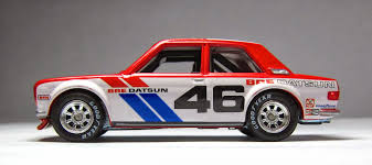 datsun race car model of the day wheels vintage racing john morton u0027s bre