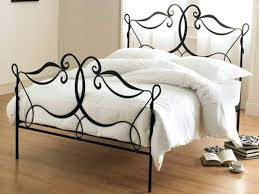 white wrought iron queen bed frame home beds decoration romantic