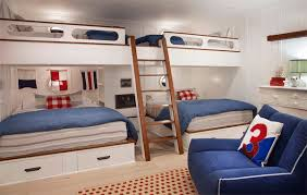 3 Bed Bunk Bed 22 Cool Designs Of Bunk Beds For Four Home Design Lover