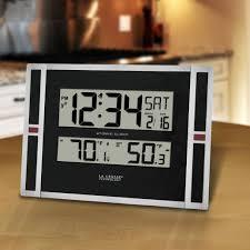 wall mounted digital alarm clock 26 best wall clocks images on pinterest wall clocks digital