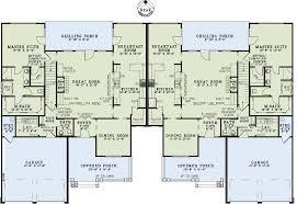 family floor plans multi family plan 82263 at familyhomeplans com