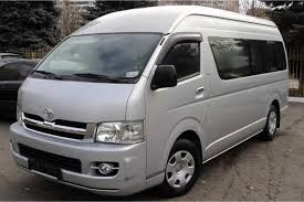 toyota hiace full day private van chauffeured service around penang toyota