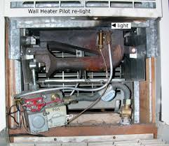 how to turn on pilot light on wall heater cabin notes