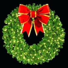 led wreaths outdoor re large lighted wreaths