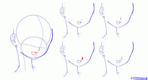 how to draw anime faces step by step anime heads anime