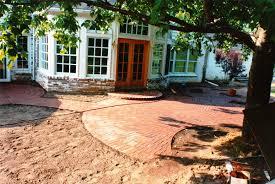 Circular Patios by Circular Brick Patio Alan K Shea Mason Contractor