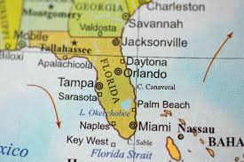 Miami Orlando Map by Map Of Florida