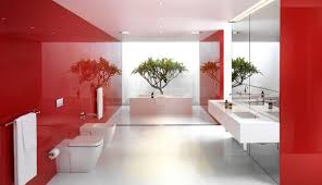 red interior design bathroom black red white bathroom design awesome and gray ideas