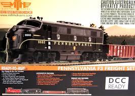 mth ho 81 4002 0 pennsylvania emd f3 deluxe freight set