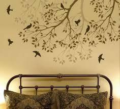sweet looking bedroom wall stencils design 16 wall stencils for