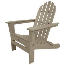 Plastic Lawn Chairs Home Depot Trex Outdoor Furniture Cape Cod Charcoal Black Folding Plastic
