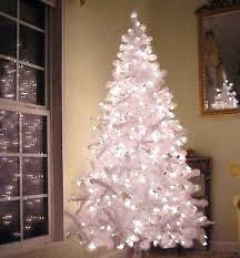contemporary decoration 6ft white tree with lights happy