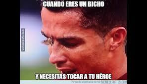 Memes De Cristiano Ronaldo - cristiano ronaldo memes de su lesi祿n en final de eurocopa