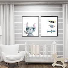 Nordic Home High Quality Cat Art Paintings Promotion Shop For High Quality