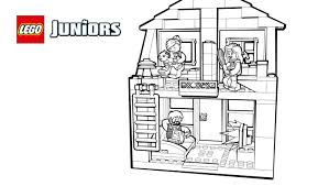 family house 2 coloring pages lego juniors activities lego