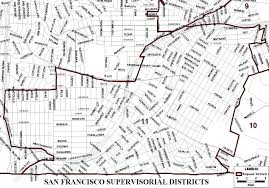 san jose district map new san francisco supervisorial district map sf gsa