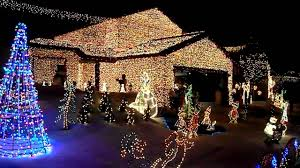 interesting decoration christmas lights with music jingle bells