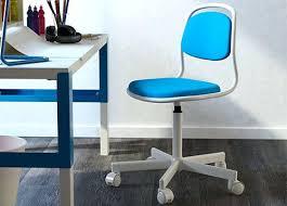 set de bureau enfant fauteuil bureau enfant chaise de bureau confortable orfjall pour