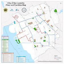 Map Of Fargo Map Where The Fiber Loop Is U2013 Lit San Leandro