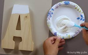 how to decorate monogram letters the crafty blog stalker