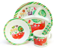 baby plates personalised melamine kids dinner set bowl plate mug cutlery baby