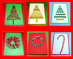 home made christmas cards and this xmas card idea handmade