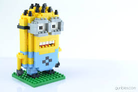 loz diamond blocks loz gift series diamond blocks minion dave gunbies